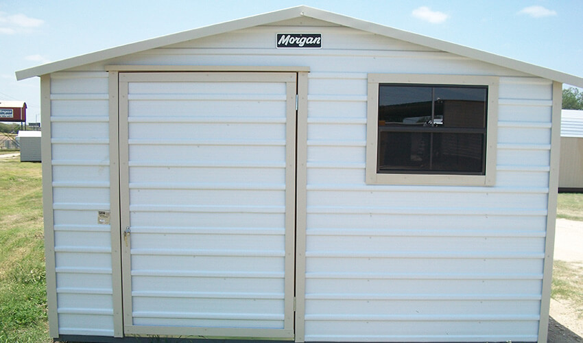 slide-backyard-storage-05 & Custom Built Backyard Storage - 61 Years Experience | Morgan Buildings