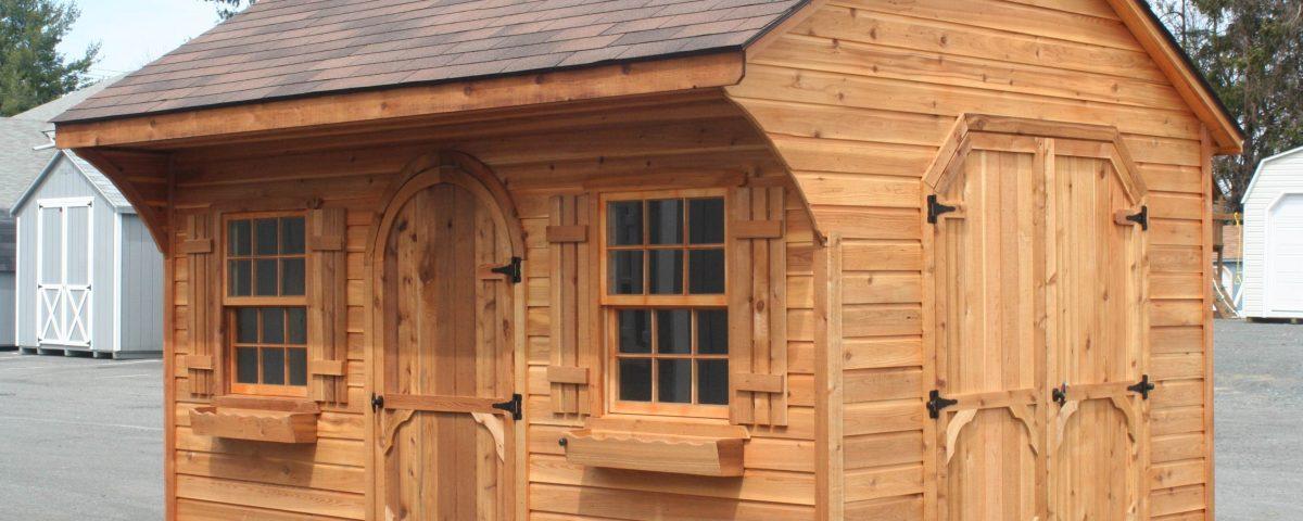 luxury outhouse